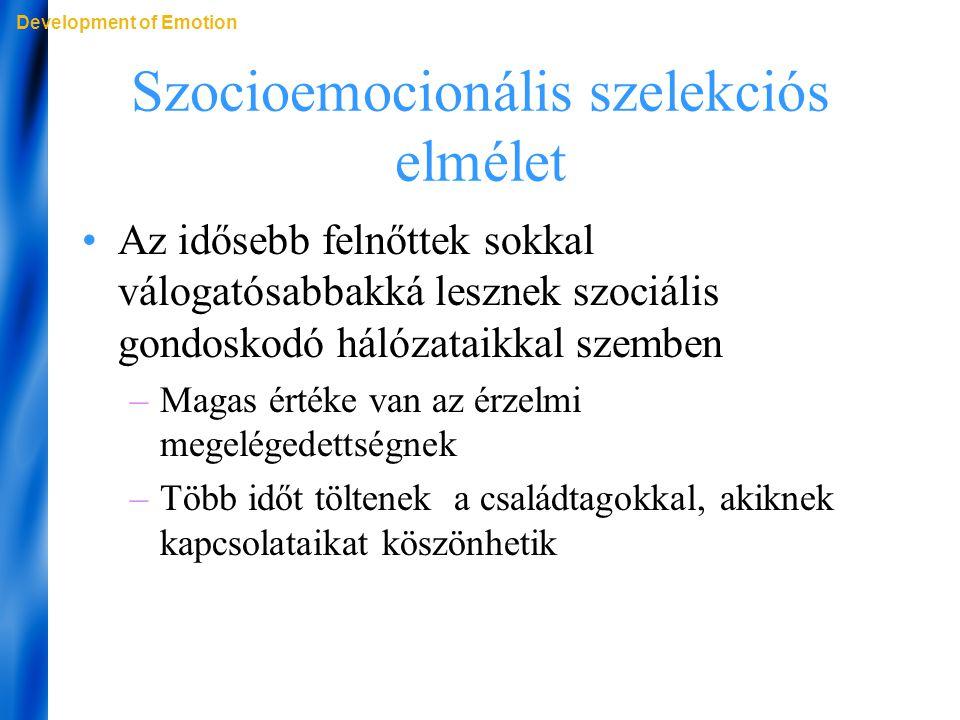 Szocioemocionális szelekciós elmélet