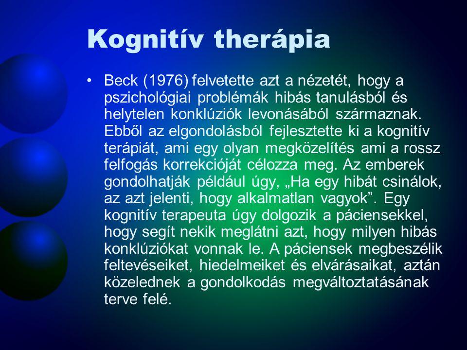Kognitív therápia