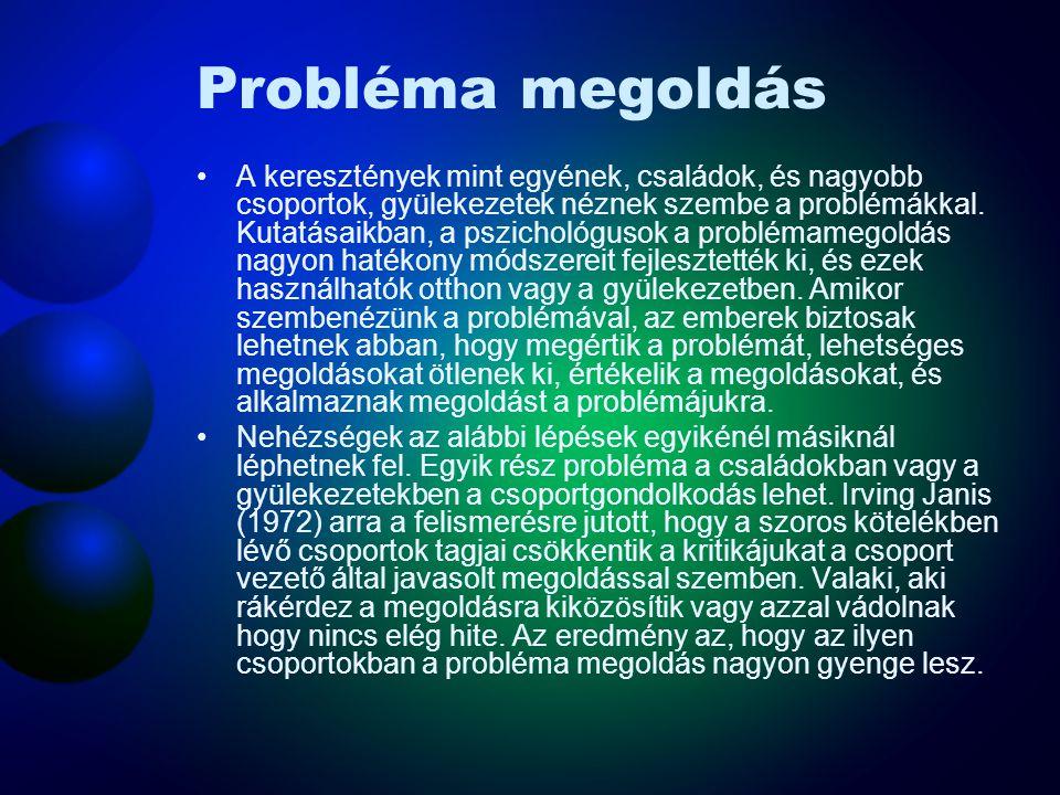 Probléma megoldás