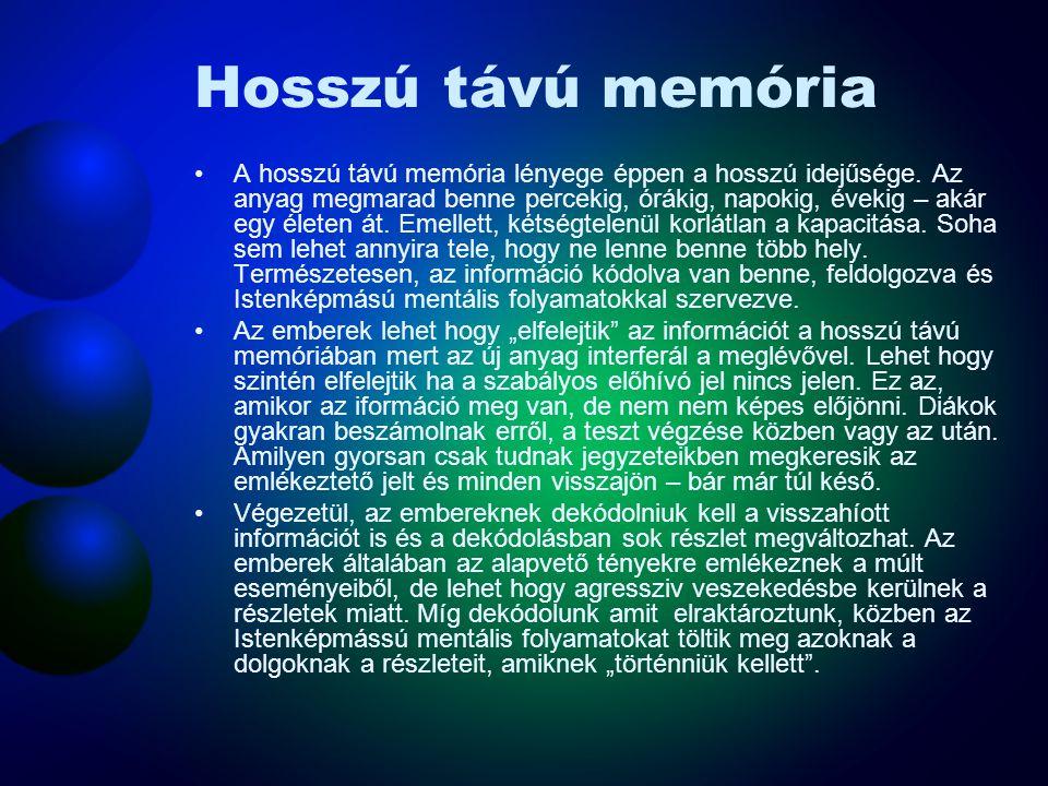 Hosszú távú memória