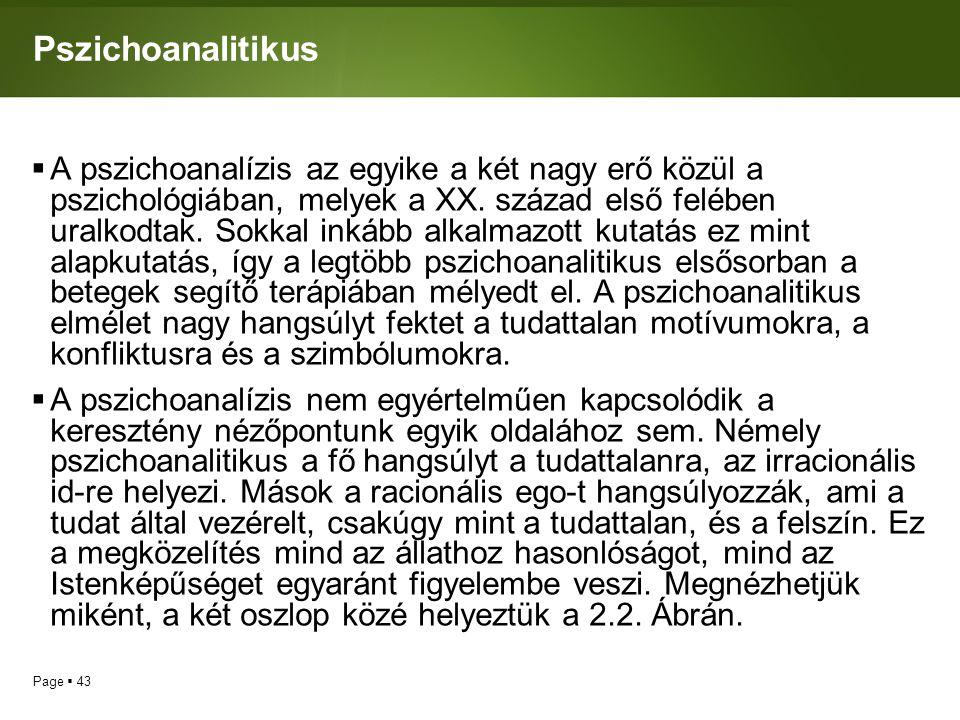 Pszichoanalitikus