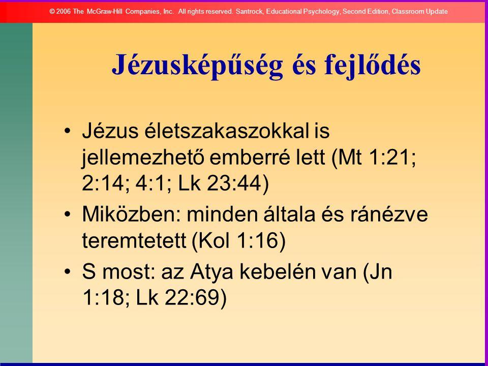 Jézusképűség és fejlődés