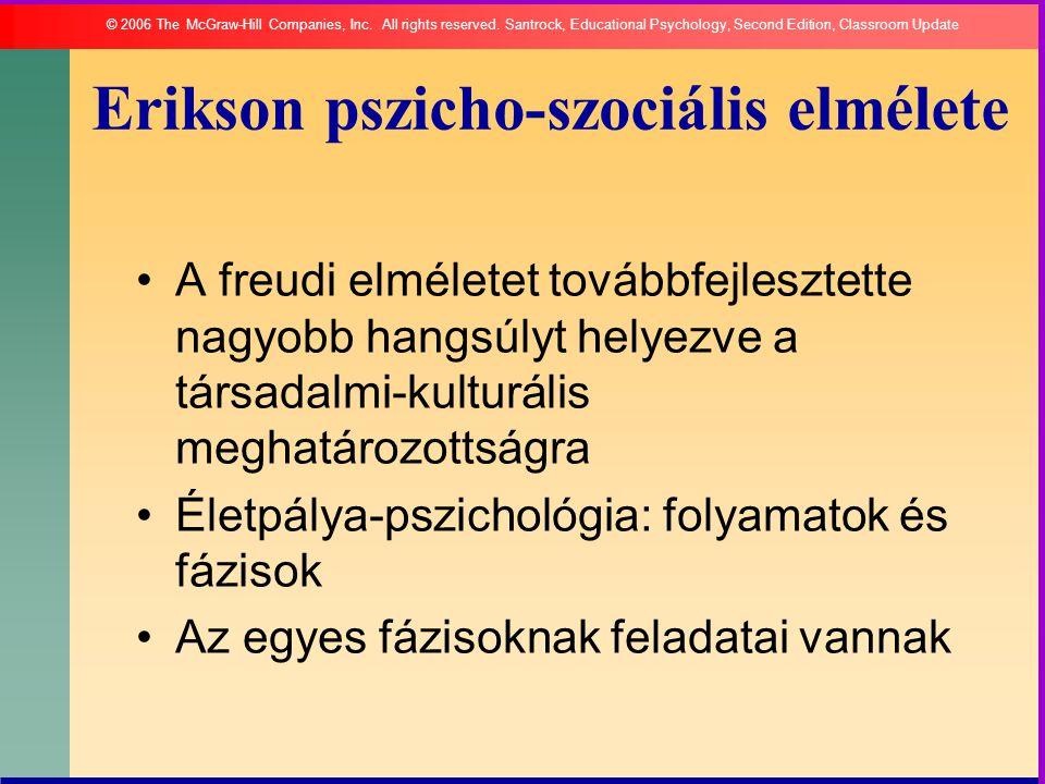 Erikson pszicho-szociális elmélete