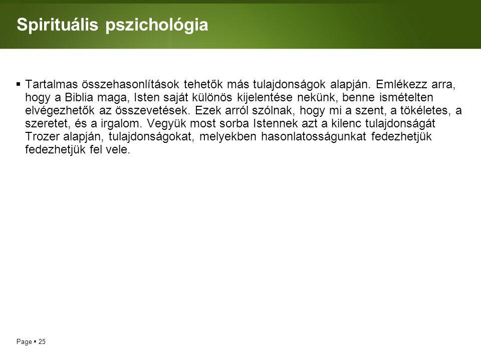 Spirituális pszichológia