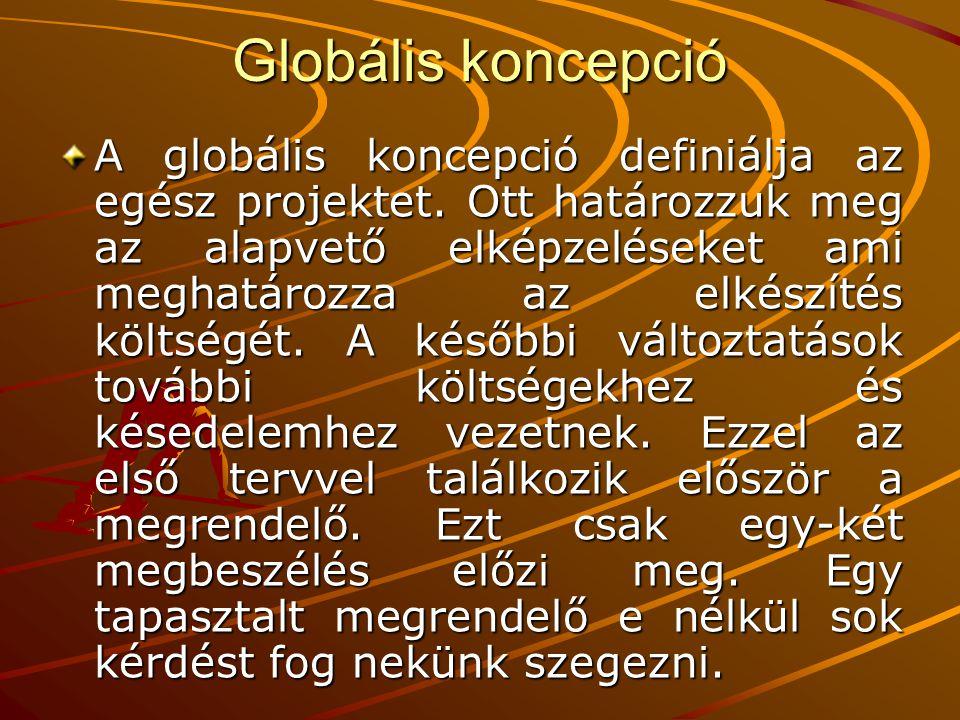Globális koncepció