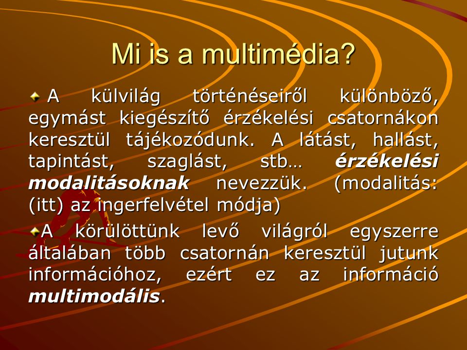 Mi is a multimédia