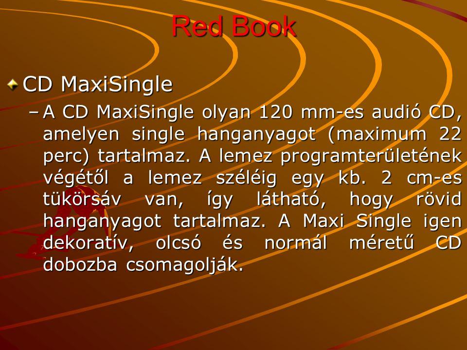 Red Book CD MaxiSingle.