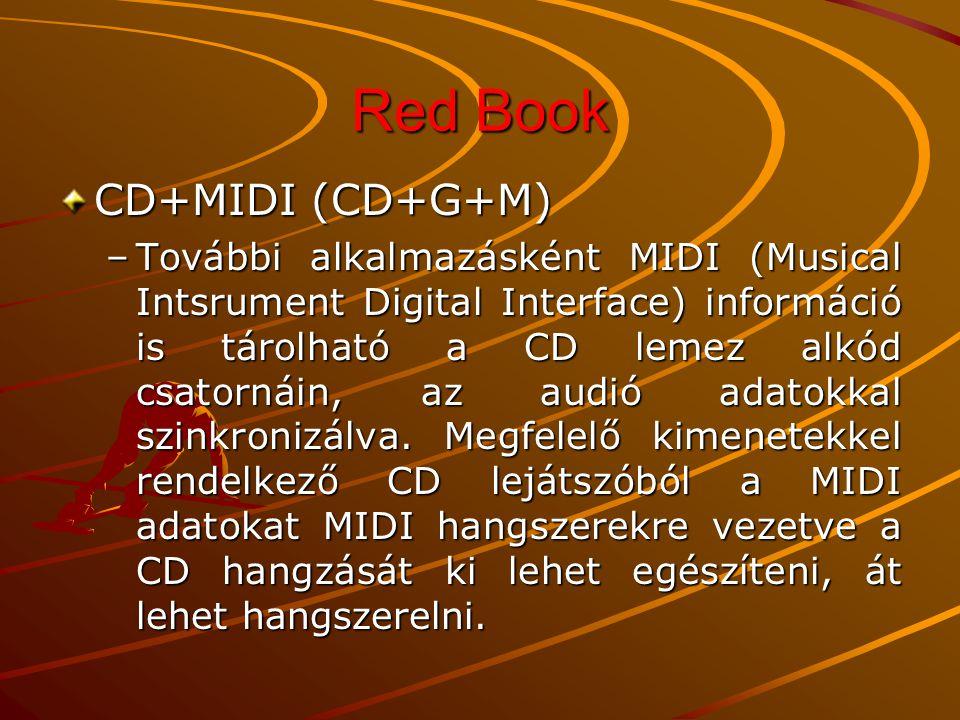 Red Book CD+MIDI (CD+G+M)