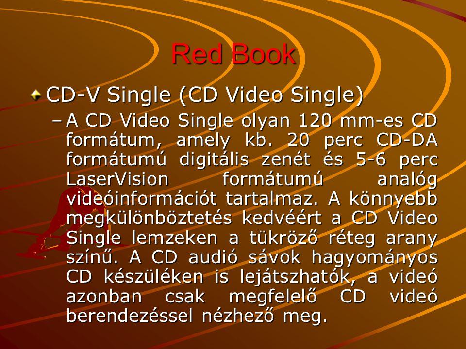 Red Book CD-V Single (CD Video Single)