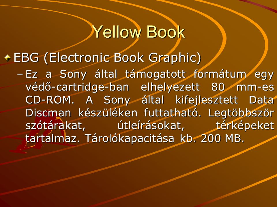 Yellow Book EBG (Electronic Book Graphic)