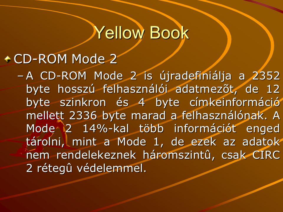 Yellow Book CD-ROM Mode 2