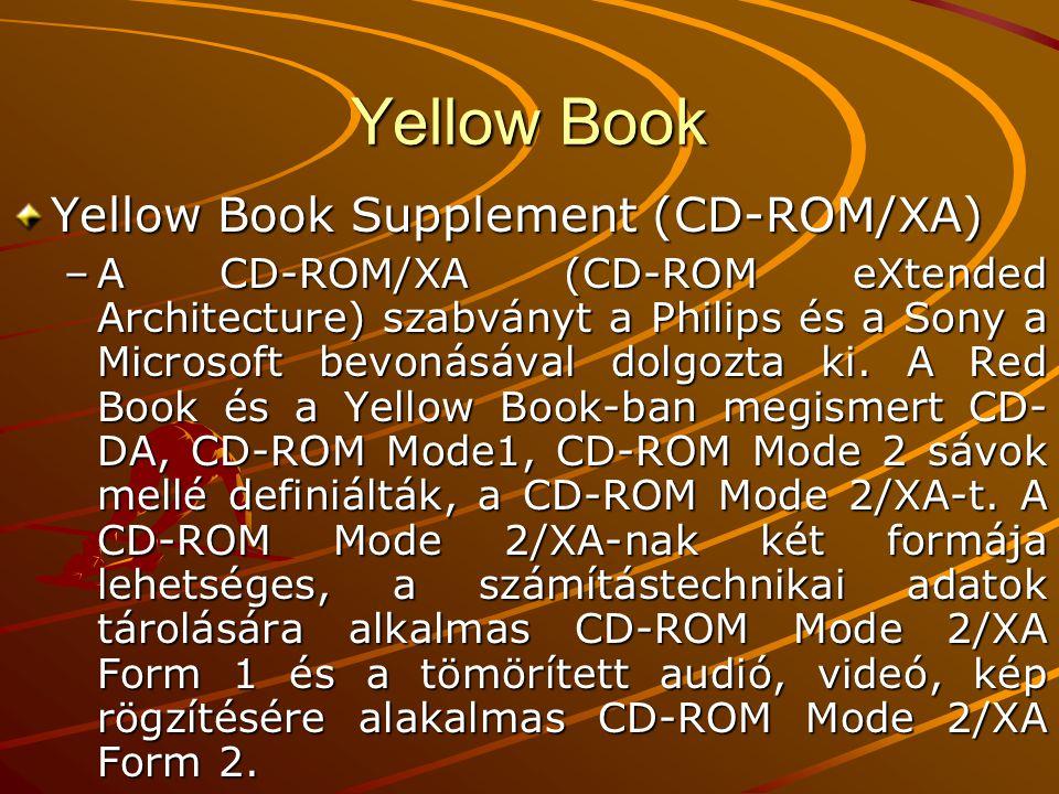 Yellow Book Yellow Book Supplement (CD-ROM/XA)