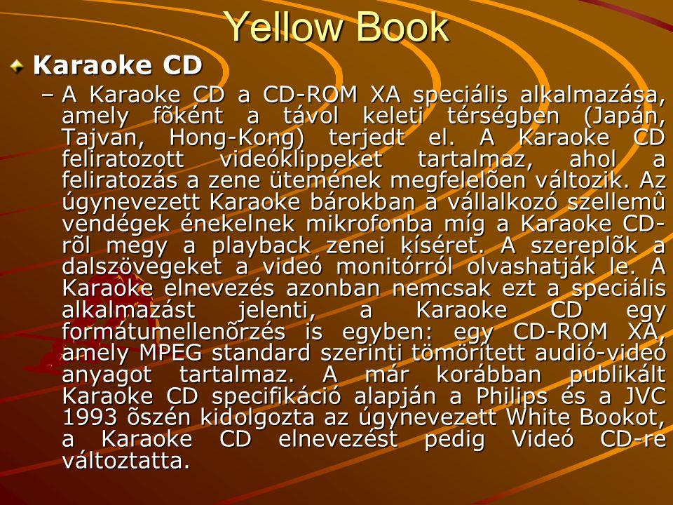 Yellow Book Karaoke CD.