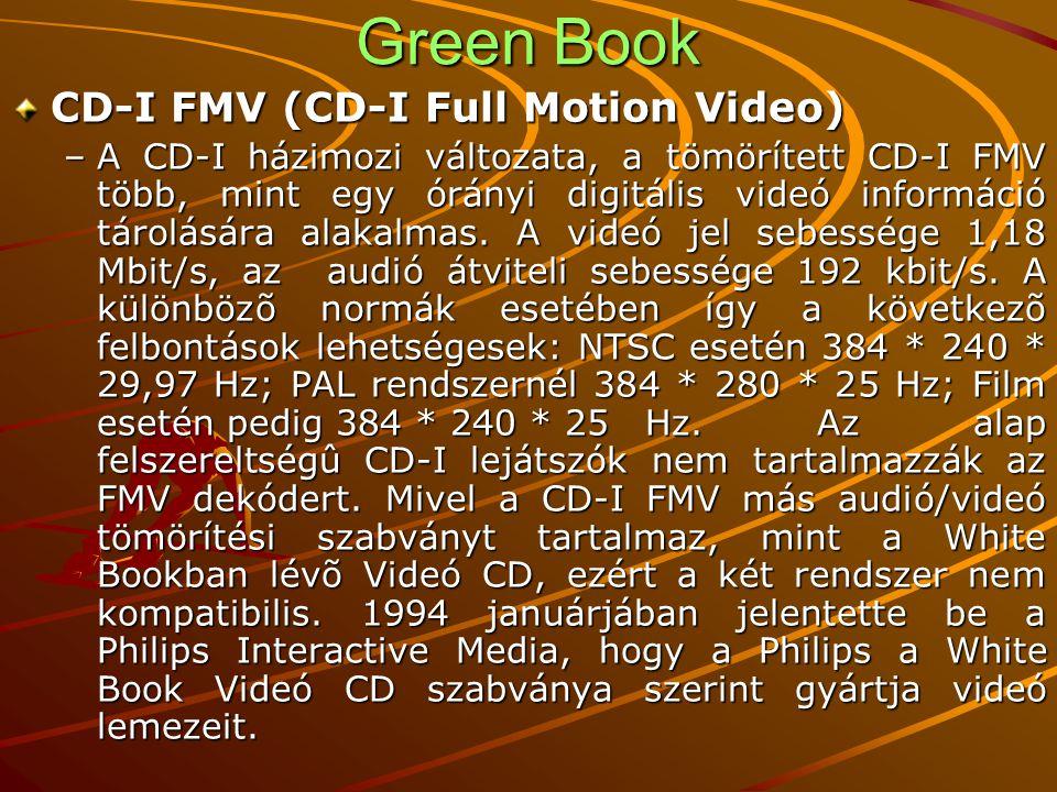 Green Book CD-I FMV (CD-I Full Motion Video)