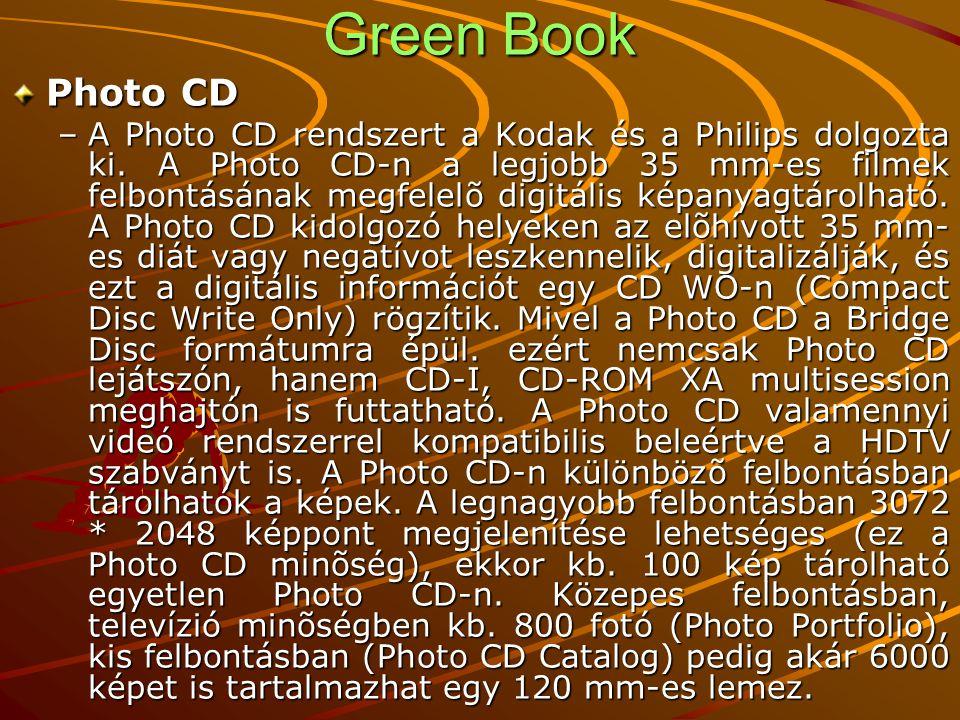 Green Book Photo CD.