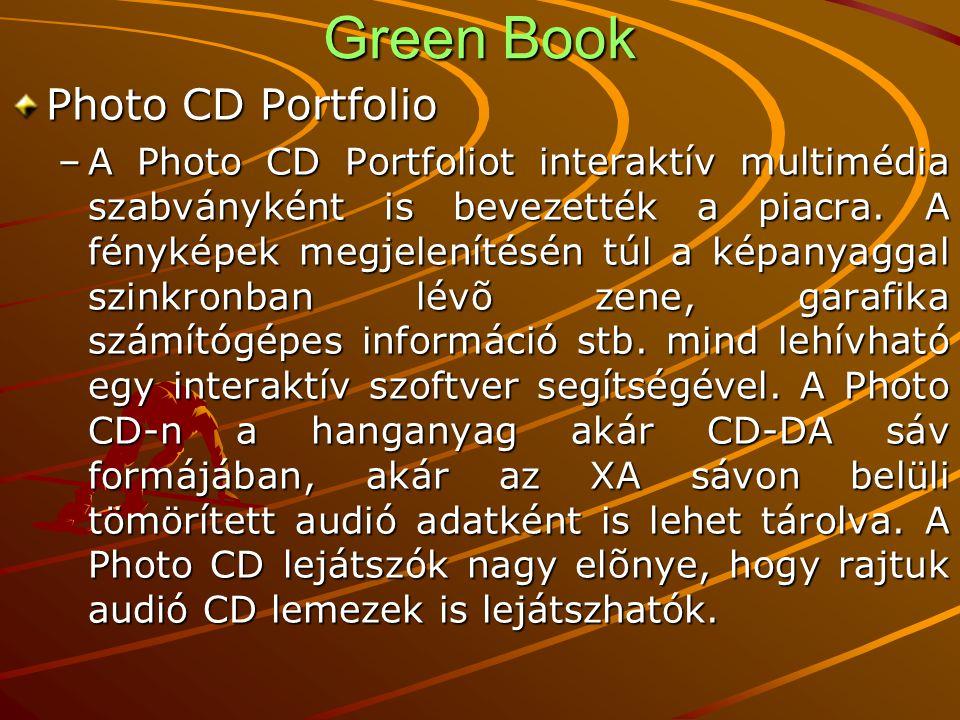 Green Book Photo CD Portfolio