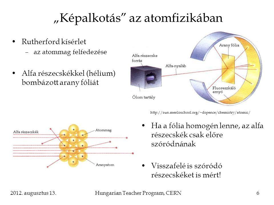 """""""Képalkotás az atomfizikában"""