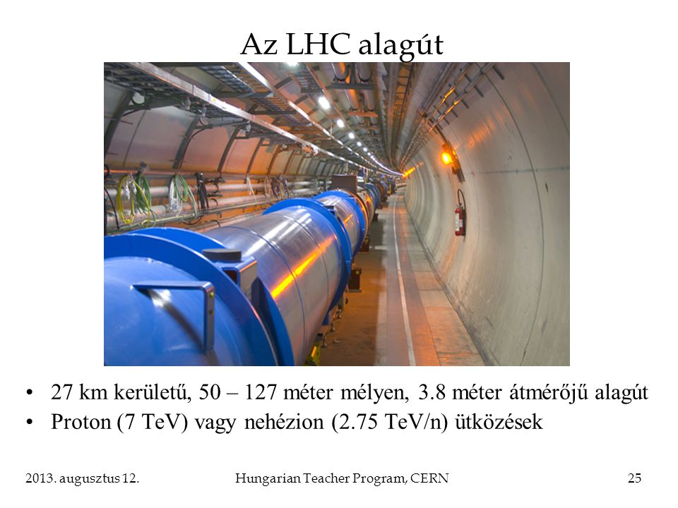 Hungarian Teacher Program, CERN