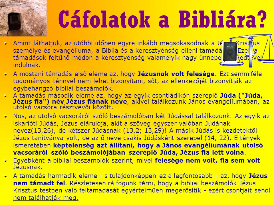 Cáfolatok a Bibliára