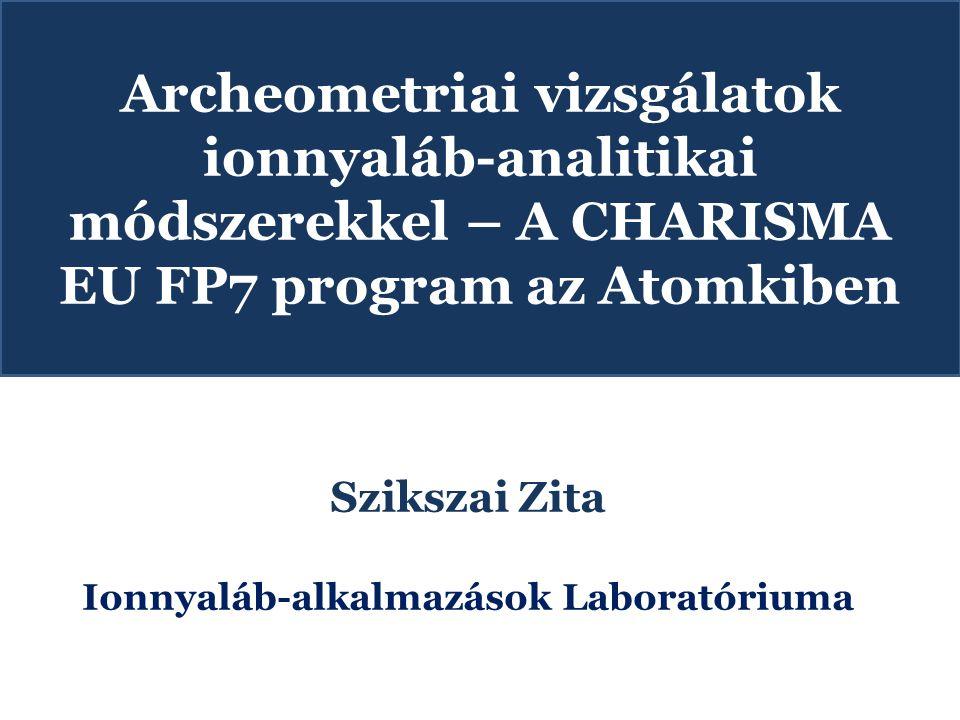 Ionnyaláb-alkalmazások Laboratóriuma