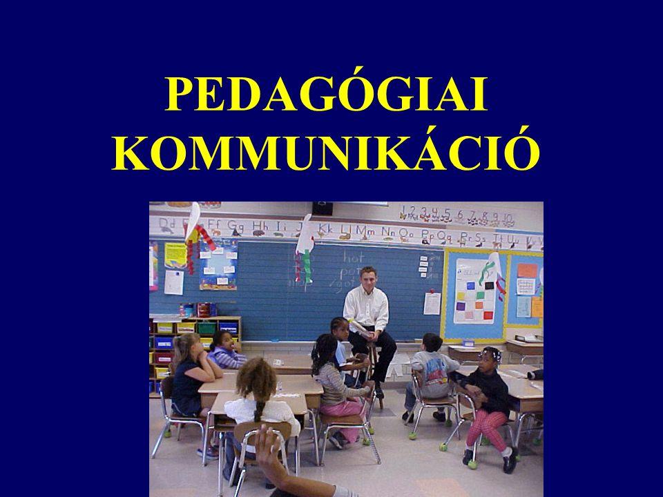 PEDAGÓGIAI KOMMUNIKÁCIÓ