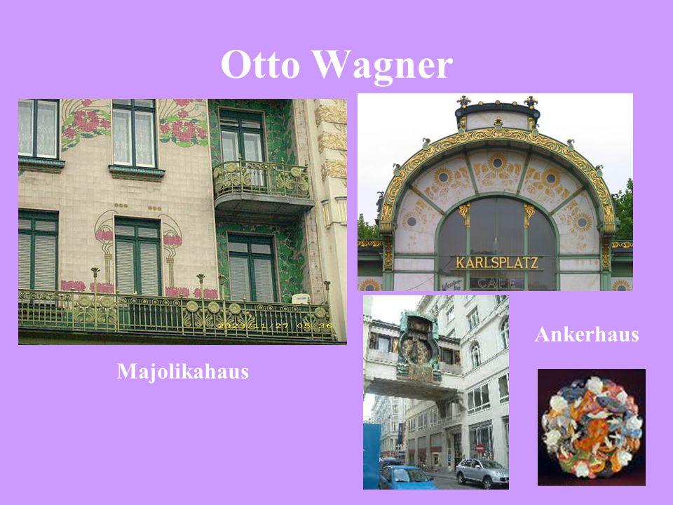 Otto Wagner Ankerhaus Majolikahaus