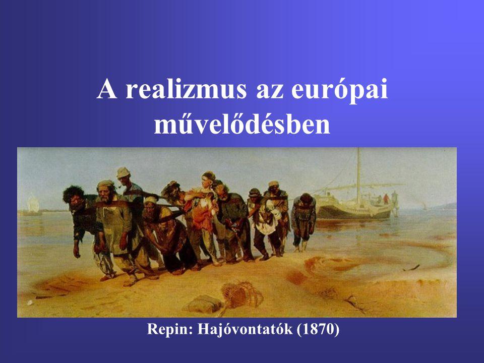 A realizmus az európai művelődésben