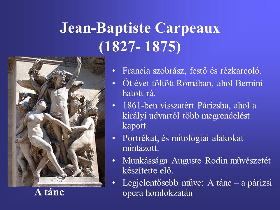 Jean-Baptiste Carpeaux (1827- 1875)