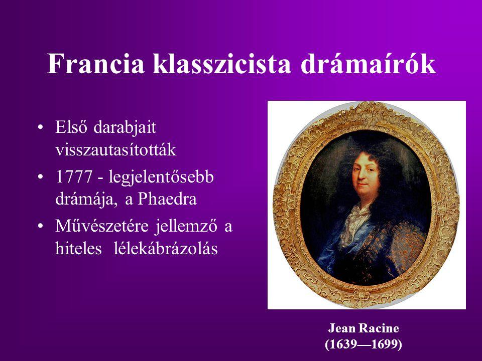 Francia klasszicista drámaírók
