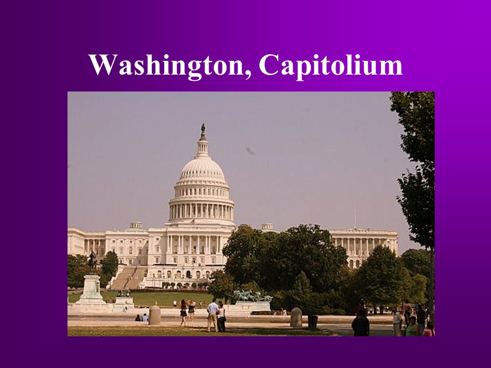 Washington, Capitolium