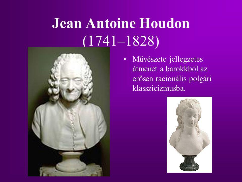 Jean Antoine Houdon (1741–1828)