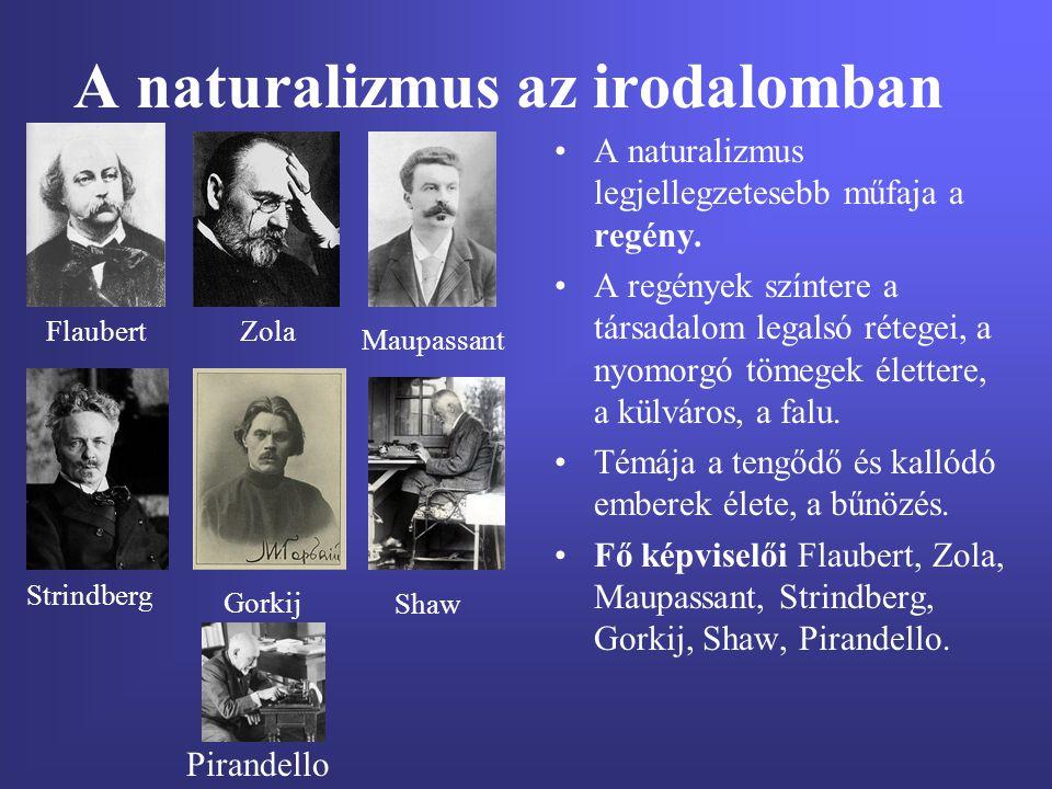 A naturalizmus az irodalomban