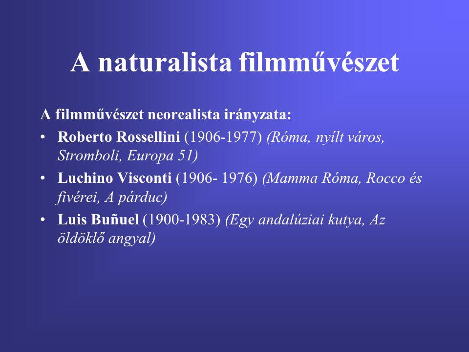 A naturalista filmművészet