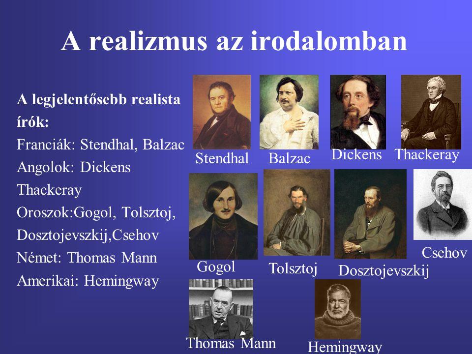 A realizmus az irodalomban