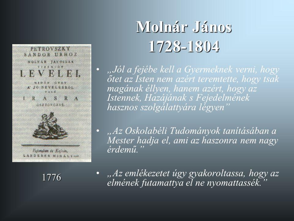 Molnár János 1728-1804
