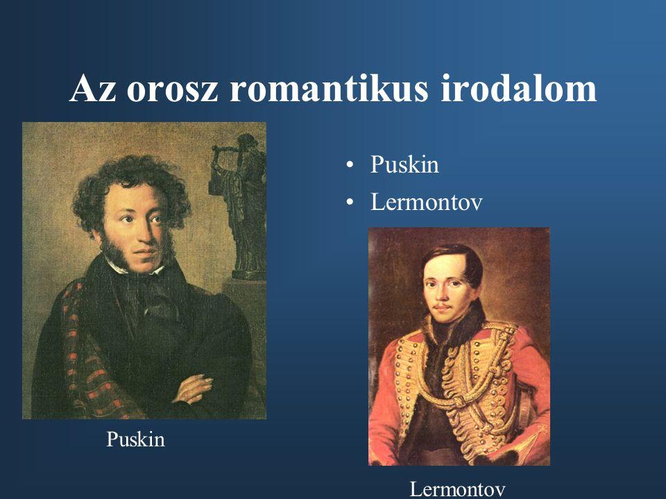 Az orosz romantikus irodalom