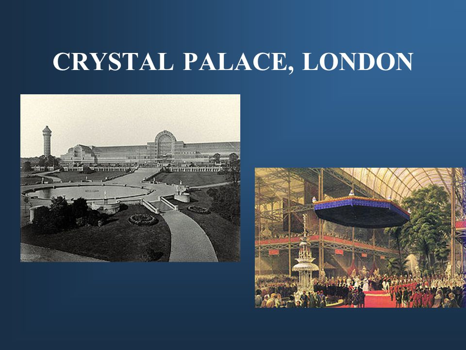 CRYSTAL PALACE, LONDON