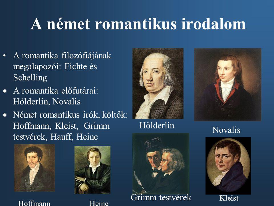 A német romantikus irodalom