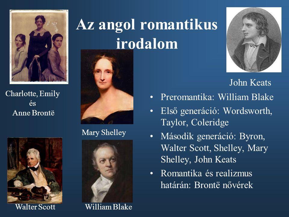 Az angol romantikus irodalom
