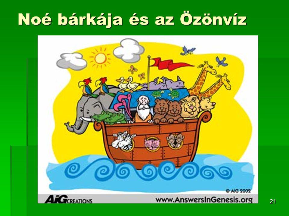Noé bárkája és az Özönvíz