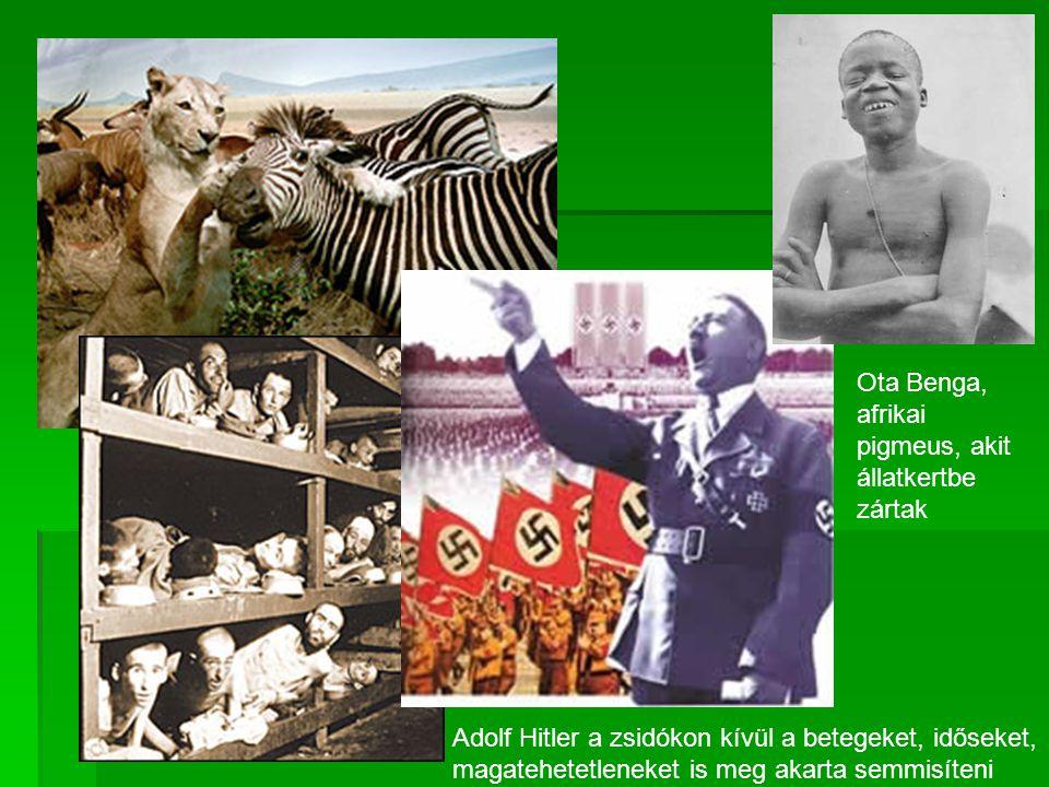 Ota Benga, afrikai pigmeus, akit állatkertbe zártak