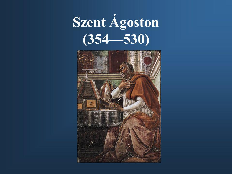 Szent Ágoston (354—530)