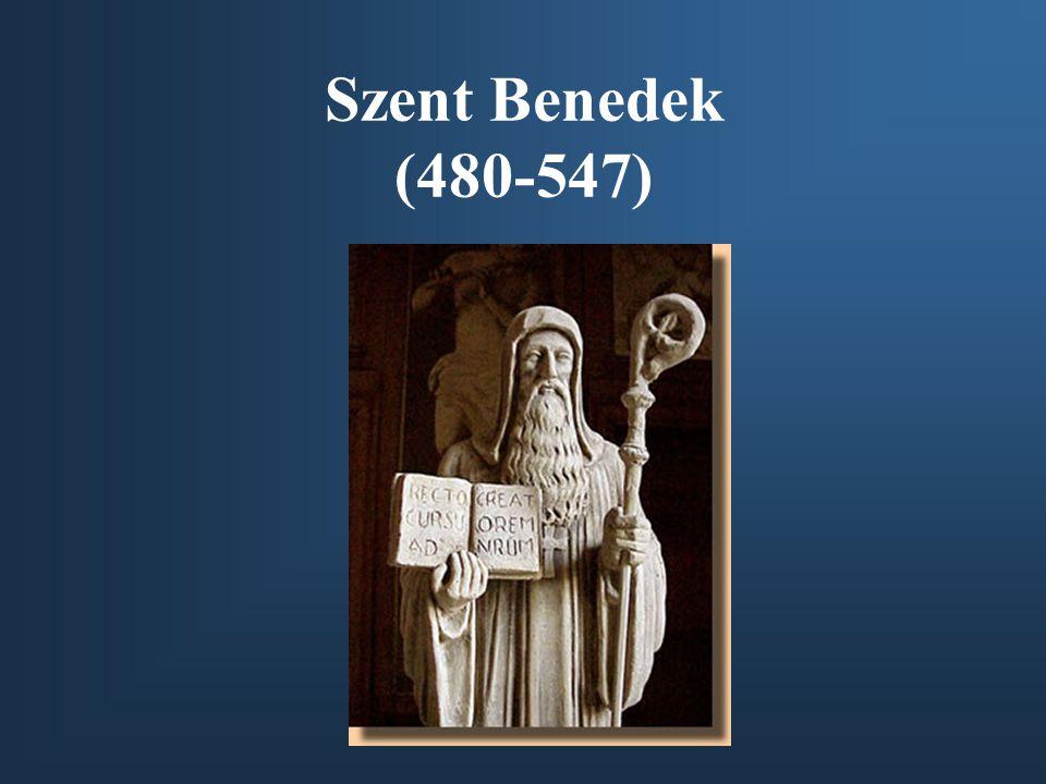Szent Benedek (480-547)
