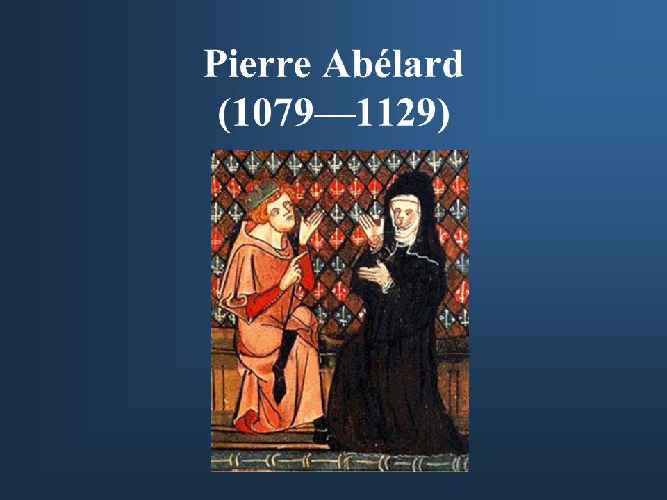 Pierre Abélard (1079—1129)