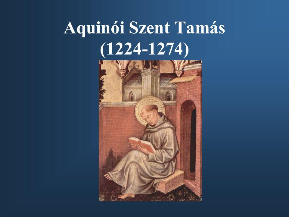 Aquinói Szent Tamás (1224-1274)