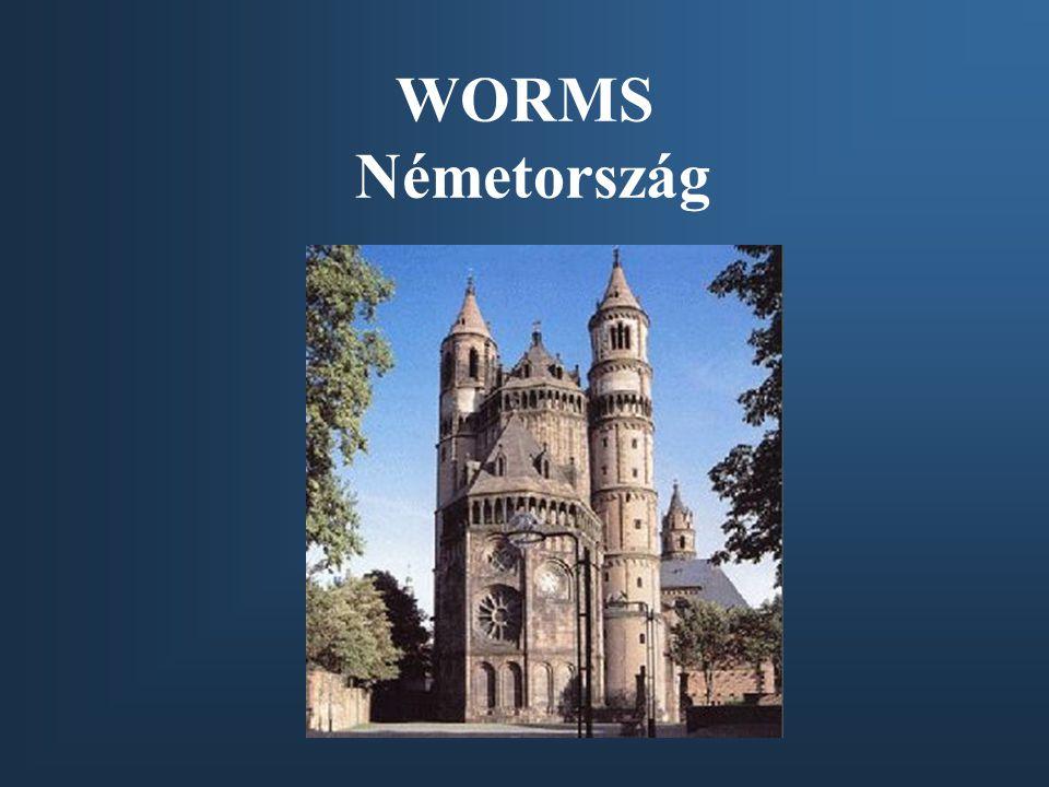 WORMS Németország