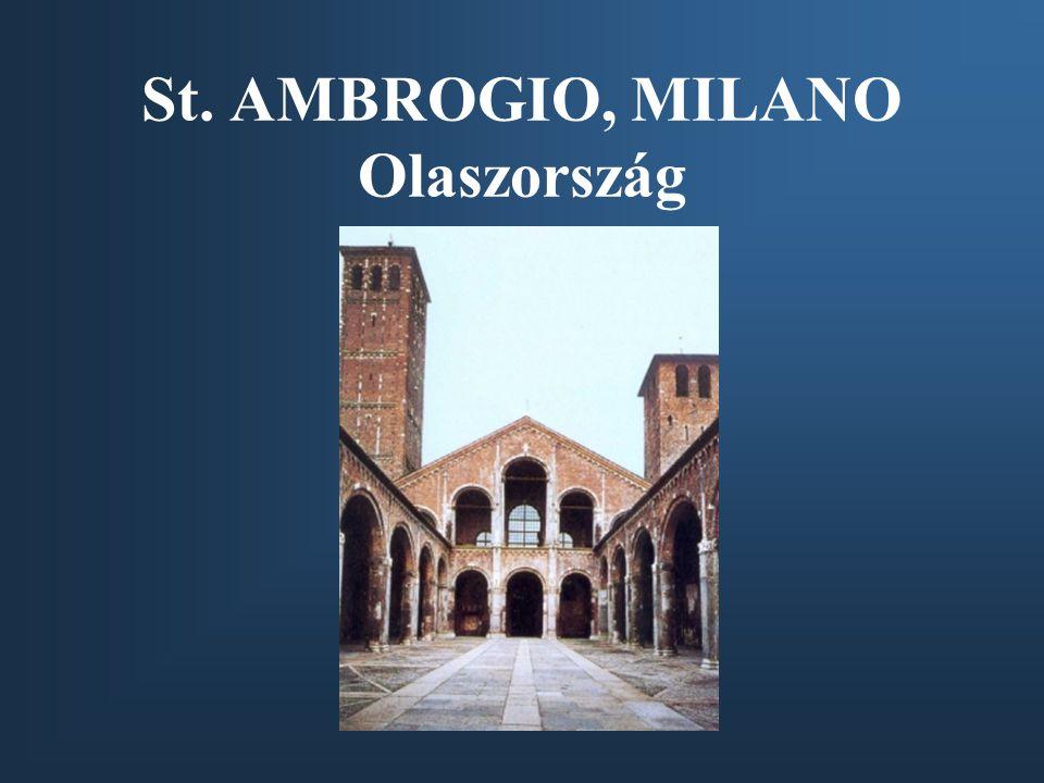 St. AMBROGIO, MILANO Olaszország