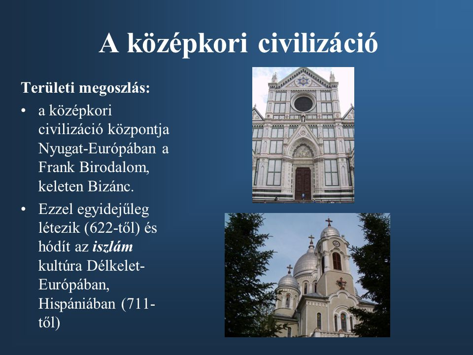 A középkori civilizáció