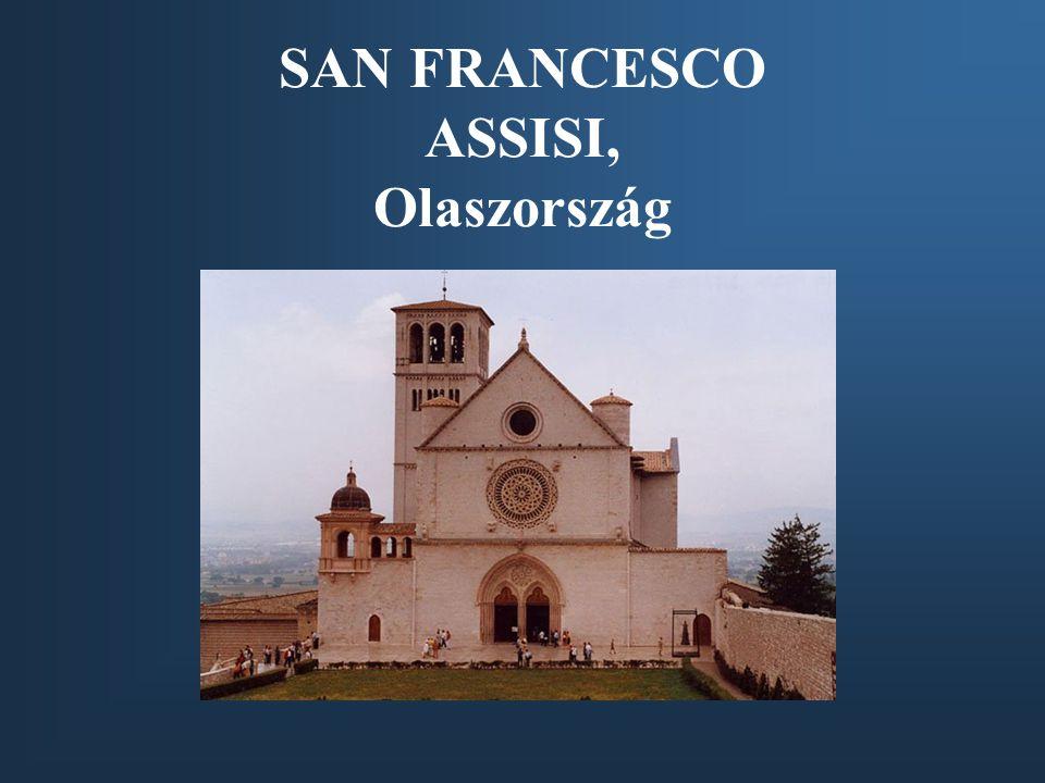 SAN FRANCESCO ASSISI, Olaszország