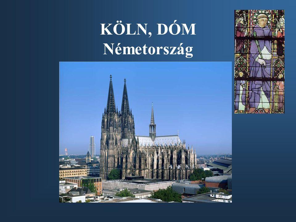 KÖLN, DÓM Németország
